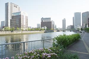 梅田の風景